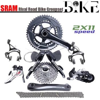 SRAM Rival 2x11 22S Speed 50x34T 52x36T 170mm 172.5mm  Road Bicycle Groupset Bike Kit GXP sensah empire 2x11 speed 22s road groupset shifter rear derailleurs front derailleurs 5800 r7000