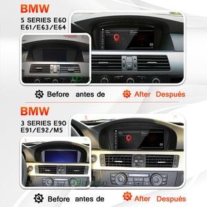 Image 5 - Snapdragon 안드로이드 10 자동차 라디오 GPS BMW 5 시리즈 E60 E61 E63 E64 E90 E91 자동차 오디오 네비게이션 자동 라디오 스테레오 no 2 din 2din