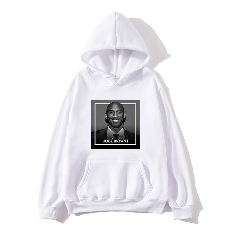 2019 new Kobe Bryant Hoodie Men Sweatshirt Sports Casual Clothes Plus velvet