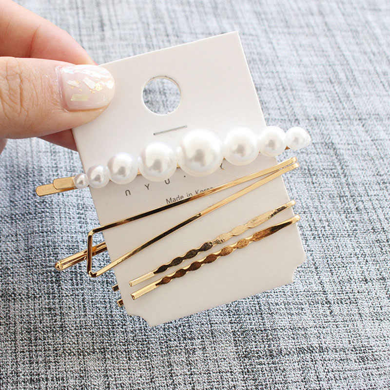 3 шт./компл. жемчужная Женская металлическая заколка для волос заколка шпилька аксессуары для волос инструменты для ухода за красотой головной убор новое поступление
