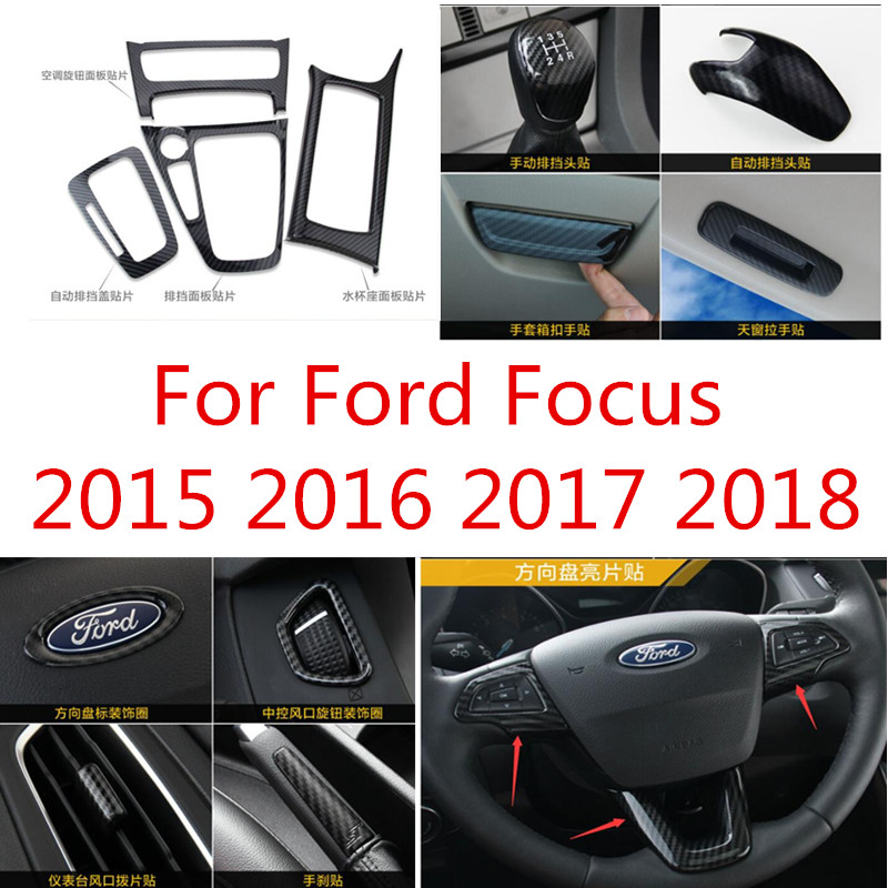 1pc Luxury FX Stainless Steel License Plate Bezel for 2015-2018 Ford Focus 4dr