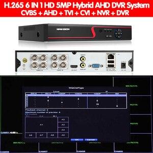 Image 5 - Cámara grabadora DVR de seguridad híbrida 6 en 1, 5MP, AHD, NVR, XVR, CCTV, 4Ch, 8Ch, 1080P, 4MP, 5MP, DVR, Onvif, RS485, Coxal, Control P2P en la nube