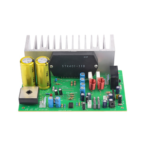 Image 4 - AIYIMA STK401 Audio Amplifier Board Amp 140W*2 HIFI 2.0 Channel High Power Amplifier AC24 28V Home Theater Diy