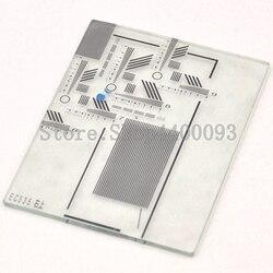 EC335 Glas lineare mikrometer visuelle korrektur kalibrator