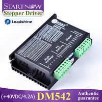 Leadshine 2 Phase Digital Stepper Driver DM542 Nema 23 Analog Driver 20-50VDC Max 4.2A For CNC CO2 Cutting Machine