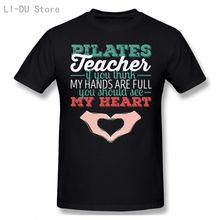Мужские топы футболки Пилатес учитель если вы думаете