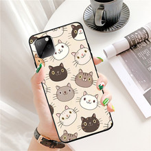 for Iphone 11Pro Max XR Iphone11 Max Ip7 8Plus 6 Case Cute Cat Case Cartoon Tpu Silicon Black Case Full Protective Back Cover protective back case for iphone 4 4s silver black