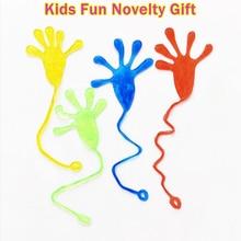 1шт дети вечеринка поставка благосклонность мини липучка желе палка пощечина мягкие руки головоломка смешные шутки игрушки новинка подарок вечеринка принадлежности