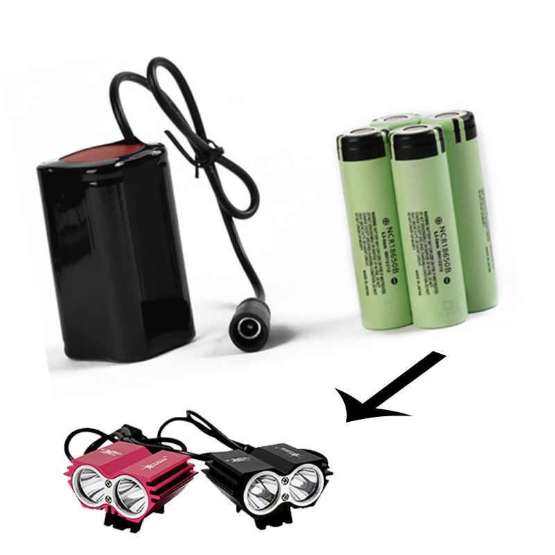 Solarstorm Batteries pour vélo avant lumière LED Rechargeable vélo lumière batterie vélo lumière accessoires 4/6 Section