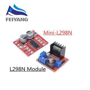 Image 1 - L298N modulo bordo di driver del motore passo passo L298N smart car robot tagliere peltier Ad Alta Potenza L298 DC Driver Del Motore per arduino