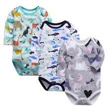 Baby Bodysuits Turn-down Collar Long Sleeve Clothes Winter Infant Overalls Newborn Boy Girl Clothing Set Jumpsuit