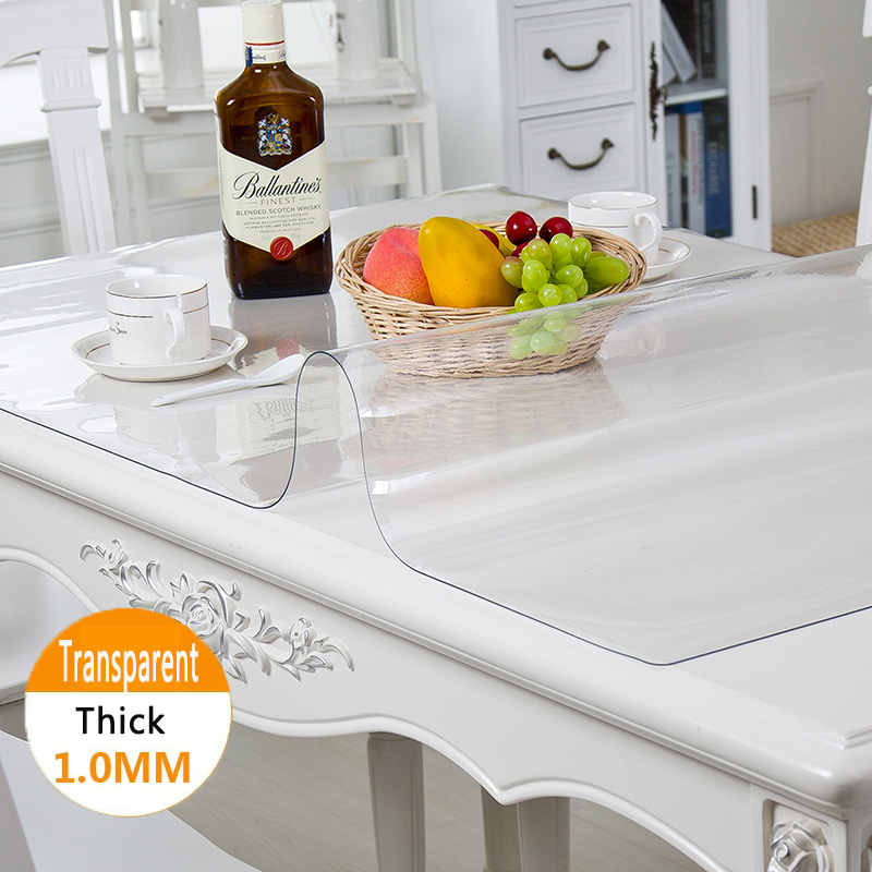 Silicone Tablecloth Transparent Soft Glass Silicone Tablecloth Liquid Glass On The Table Cloth Oilcloth Rectangular Tablecloths