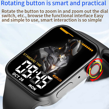 CHYCET IWO Watch 7 Smartwatch Smart Watch Men Women DIY Face Fitness Tracker Watch For Xiaomi Huawei PK DT100 IWO 13 Pro 2021 3