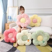 Pillow Cushion Flower-Shape Sofa Plush-Toys Birthday-Gift Girl Kids 50cm