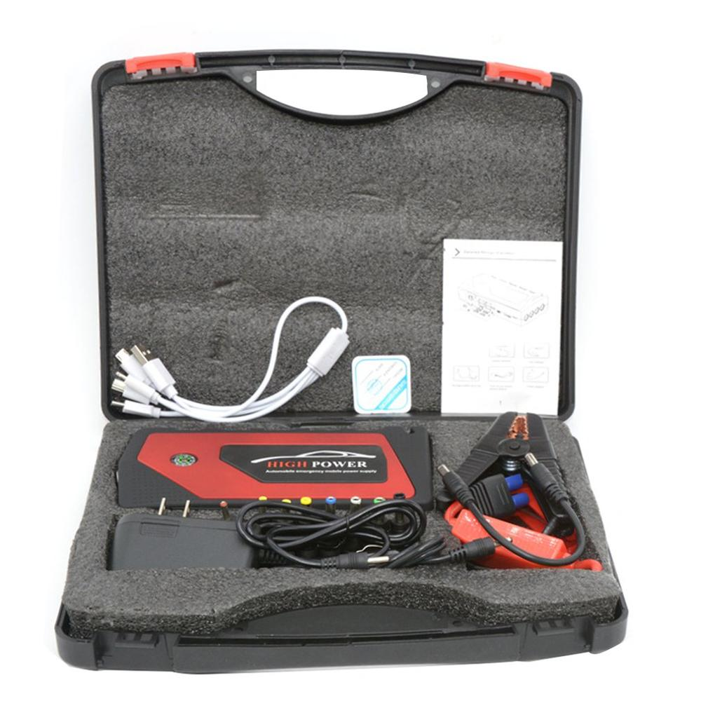 Mini Portable Car Jump Starter Emergency Starting Device USB Ports Mobile Power For Phone Battery Charger
