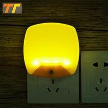โคมไฟ AC 220V 110V Night Light SENSE LED โคมไฟฉุกเฉิน Light Corridor ห้องนอนบ้าน