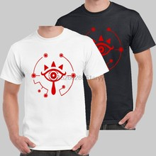 The Sheikah Eye Logo The Legend of Zelda Breath of The Wild T-shirt USA Size(1)(China)