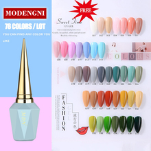 Uv-Nail-Gel Permanent-Polish Polishgel Manicure Semi Soak-Off Popular MODENGNI