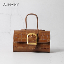 Crocodile pattern Real Leather Handbag 2020 Top Quality Luxury Brand Women Shoulder Bag Retro Genuine Leather Bolsos Para Mujer
