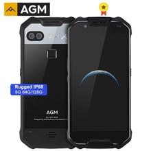"AGM X2 ทนทาน IP68 MIL STD 810G กันน้ำ 6000mAh 6G + 64G/128GB โทรศัพท์มือถือ 5.5 ""OCTA Core 16MP NFC สมาร์ทโฟน"