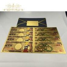 1 pces 2020 novo japão nota 10,000 yen dinheiro de cédula para coleta