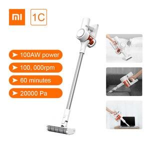 Image 1 - Xiaomi Mi Mijia Handheld Staubsauger 1C Hause Auto Haushalt Drahtlose Kehr 20000Pa Zyklon Saug Multifunktionale Pinsel