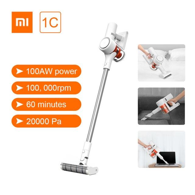 Xiaomi Mi Mijia Handheld Staubsauger 1C Hause Auto Haushalt Drahtlose Kehr 20000Pa Zyklon Saug Multifunktionale Pinsel