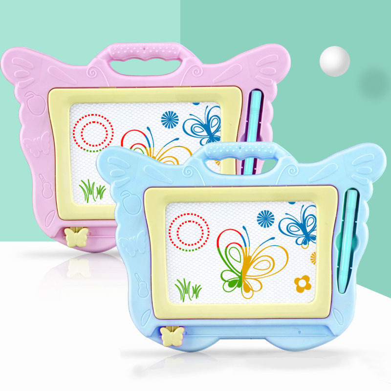 Magic Magnetic Drawing Board Writing Doodle Toy ABS Color Graffiti Children Kids Children'S Toys For Funny