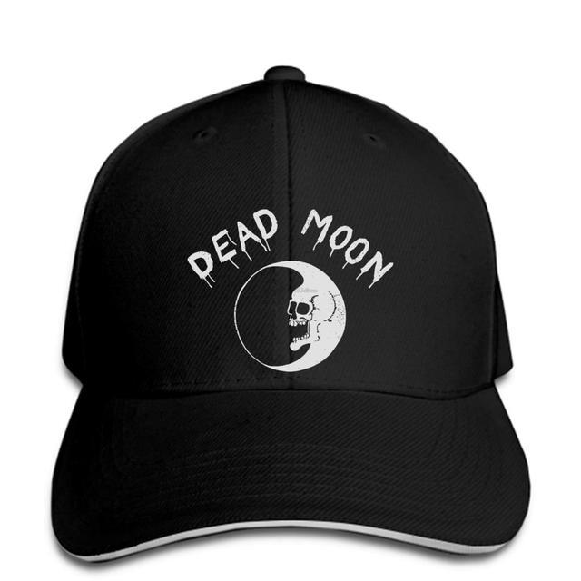 NEU Limited Neu DEAD MOON black Baseball cap punk rock Baseball cap snapback hat Peaked