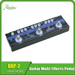 Rowin Efeitos de Guitarra Multi-efeitos Pedal 3-Em-1 DAP-2 Echo/Conjunto/Overdrive
