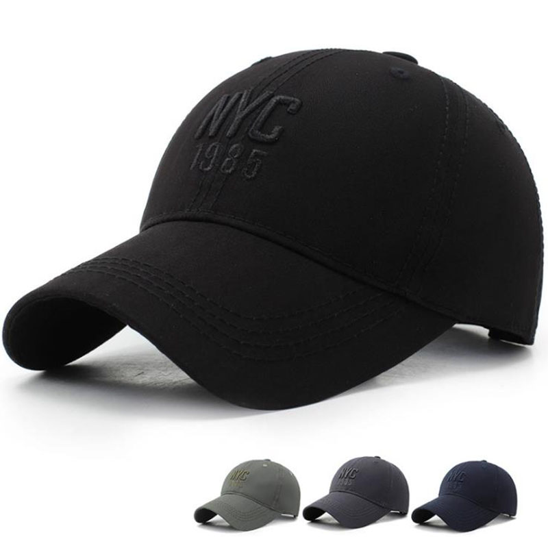T-MAC <font><b>NYC</b></font> Embroidery Baseball Cap Men Women Dad Hat Snapback Hip Hop Casquette Ny Gorras Para Hombre Fitted Cap Sombrero gorras image