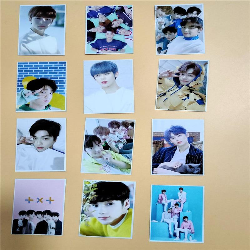 16pcs/set Kpop TXT Fanmade Photocards 3