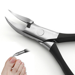 Paronychia Improved Stainless steel nail clippers trimmer Ingrown pedicure care professional Cutter nipper tools feet toenail