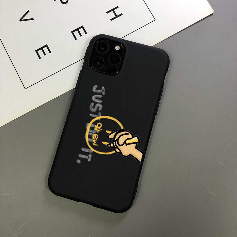 Luxus marke Justin Bieber Drew Haus schwarz TPU Weichen Telefon Fall für iPhone 5 SE 6 6S 7 8 plus X XR XS Max 11 11Pro Max abdeckung