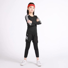 2020 NEW Kids Children Boy Girl Thermal Sports Fur Base Layer Compression Tee T-Shirt Quick-drying Clothes цена 2017