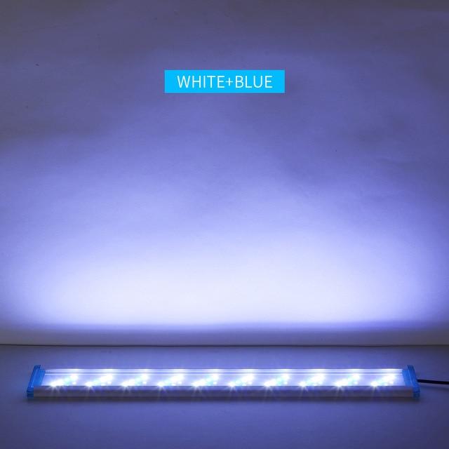 Super Slim Adjustable LED Fish Tank Lighting 5