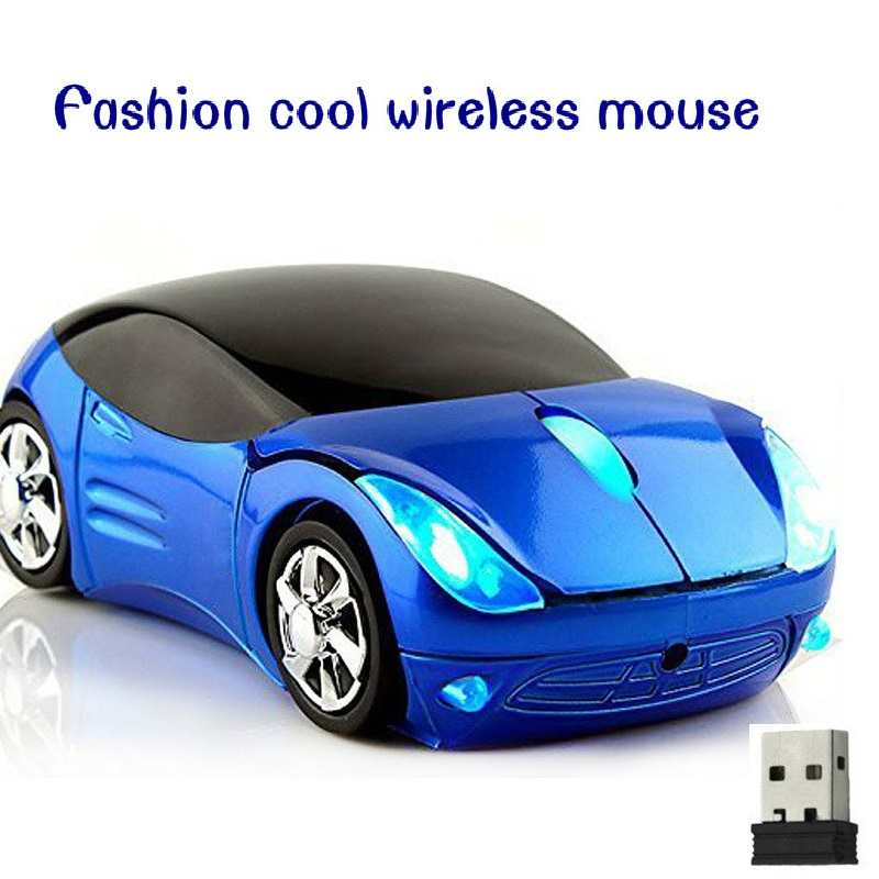 2.4Ghz Wireless Optical Computer Mouse Fashion Super  Luxury Car Shaped Game Mice  For PC  Laptop Portable