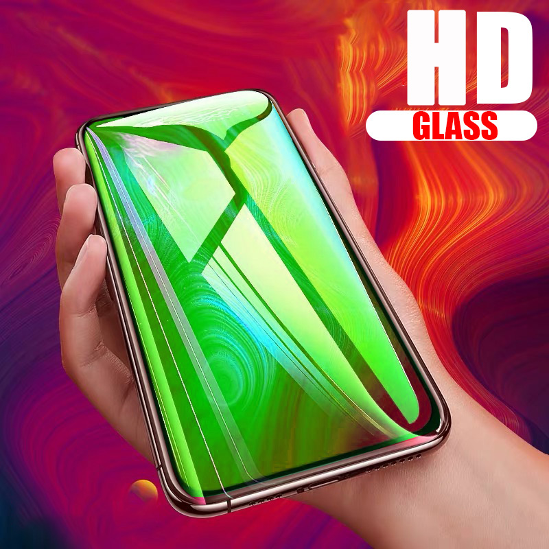 Screen Protector Glass For Samsung Galaxy Note 8 9 10 Plus Full Cover Tempered Glass For Samsung Galaxy M10 M20 M30 A9 2018 Film