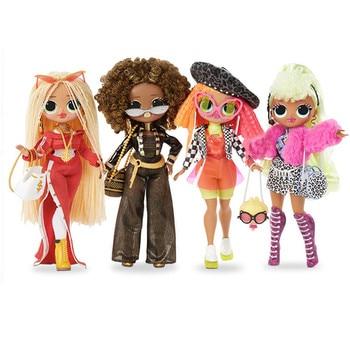 L.O.L.SURPRISE!  lol dolls Surprise toys O.M.G. Disco Dollie Fashion Doll Beautiful Hair lol Doll Generation Sister Girls Toys l o l surprise lol surprise doll big sister cherry glam glitter series 2