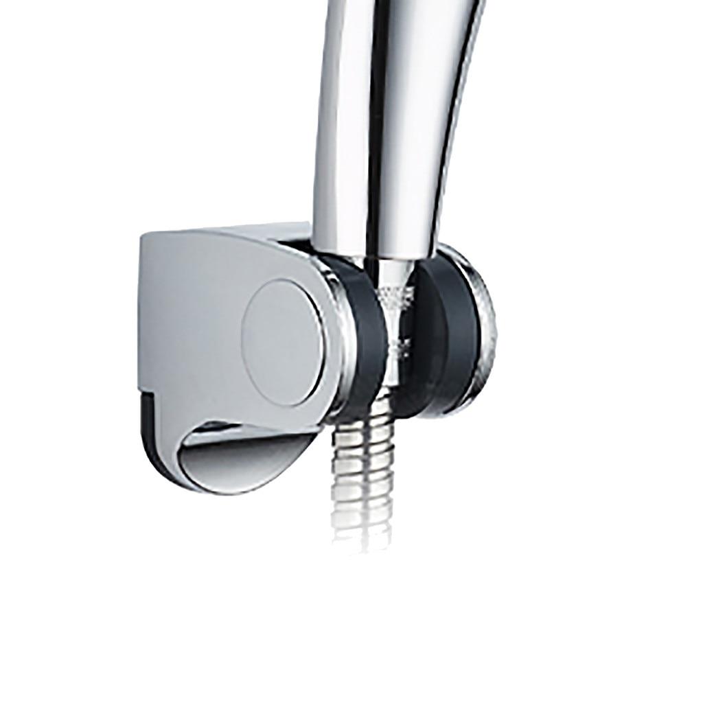 Bathroom Wall Mount Suction Bracket Shower Head Handset Holder Adjustable O3