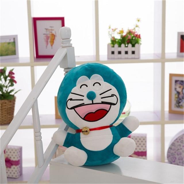 Best selling cartoon anime robot cat Doraemon Doraemon plush toy stuffed doll ragdoll pillow sofa cushion decoration doll gift
