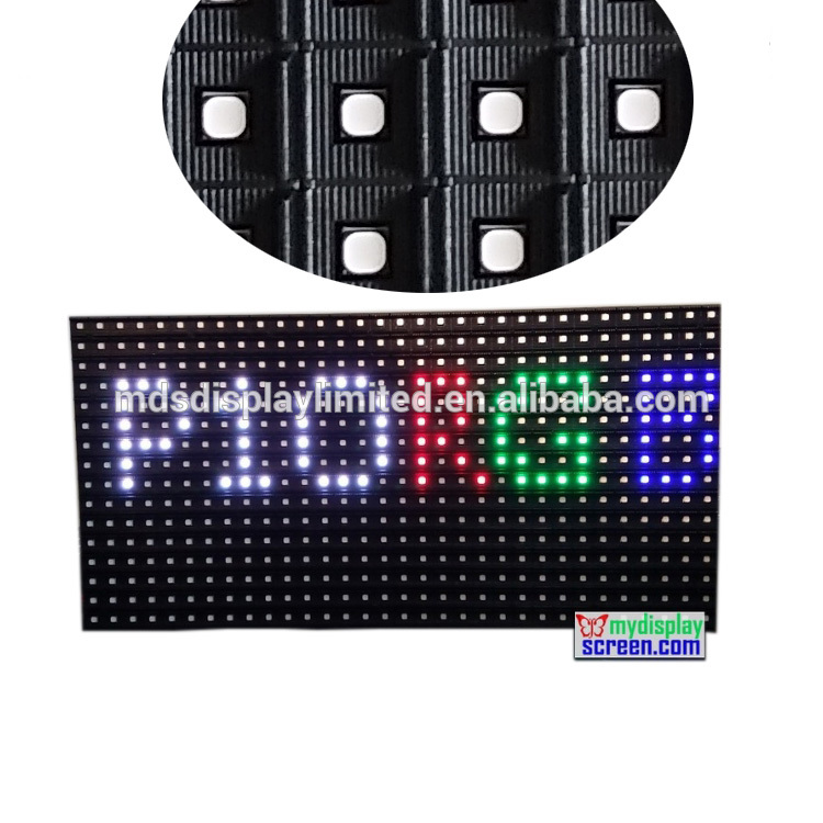 320*160mm P10 Full Video Display Led Screen Outdoor Smd Pantalla Led Exterior 1/2 Scan Rgb Led Matrix