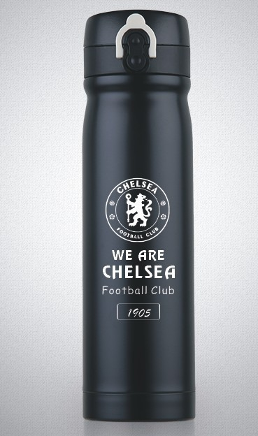 Chelsea  football club insulated 500ml vacuum water bottle//flask