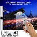 3 режима светодиодный светильник с датчиком солнечной энергии Уличный настенный светильник 20 Вт PIR лампа движения водонепроницаемый монтаж...