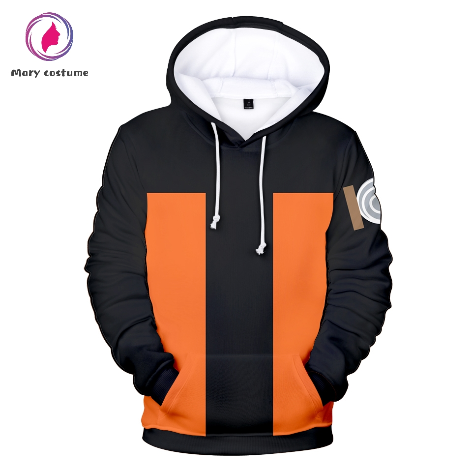 Naruto Hoodie Men Fashion Polyester Casual Hoodie Sweatshirt 2019 Spring Autumn Male Naruto Clothes Casual Harajuku Streetwear