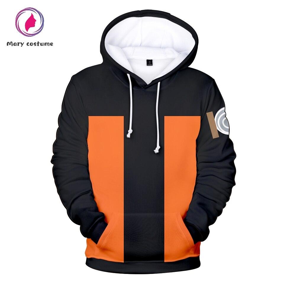 Naruto Cosplay Hoodie Men Fashion Polyester Anime Hoodie Sweatshirt 2020 3D Spring Autu0mn Unisex Clothes Harajuku Streetwear