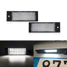 2x se encaixa para kia forte seden 2019-xceed 2019 2020 2021 branco canbus smd traseiro led luzes da placa de licença lâmpada