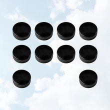 Sports-Supplies Hockey-Balls Training-Game Rubber for Practicing Black 10pcs