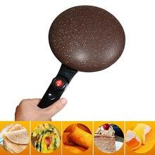 Портативная антипригарная сковорода производитель электрического крепежа машина, пицца блинная машина для выпечки сковорода машина для торта кухонные инструменты для приготовления пищи