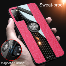 Armor Case For Huawei Honor V30 Pro Magnetic Ring Holder Matte TPU Shockproof Case For Honor V30 Luxury Silicone Back Cover Capa 360 full protection case for huawei honor v30 case luxury hard pc shockproof cover for honor view30 pro v30 bumper capa
